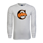 White Long Sleeve T Shirt-C w/ Camel Head