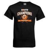 Black T Shirt-2017 Big South Champions Mens Golf