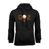 Black Fleece Hoodie-Golf Text Design