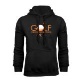 Black Fleece Hoodie-Golf Text Design