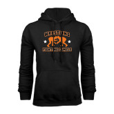 Black Fleece Hoodie-Wrestling Design