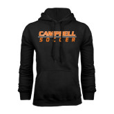 Black Fleece Hoodie-Soccer Design