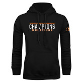 Black Fleece Hoodie-2017 Southern Conference Wrestling