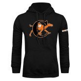 Black Fleece Hoodie-Campbell Official Logo