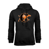 Black Fleece Hoodie-Campbell Official Logo