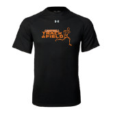 Under Armour Black Tech Tee-Track and Field Runner Design