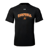 Under Armour Black Tech Tee-Arched Campbell University