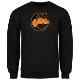 Black Fleece Crew-C w/ Camel Head