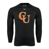 Under Armour Black Long Sleeve Tech Tee-CU