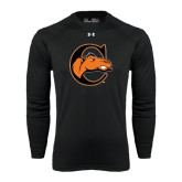 Under Armour Black Long Sleeve Tech Tee-C w/ Camel Head