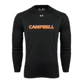 Under Armour Black Long Sleeve Tech Tee-Campbell Flat