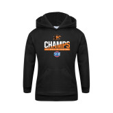 Youth Black Fleece Hoodie-2017 Southern Conference Wrestling