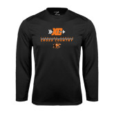 Performance Black Longsleeve Shirt-Cross Country Design