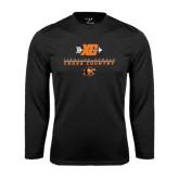 Syntrel Performance Black Longsleeve Shirt-Cross Country Design