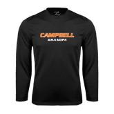 Syntrel Performance Black Longsleeve Shirt-Grandpa