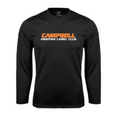 Performance Black Longsleeve Shirt-Fighting Camel Club
