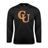 Performance Black Longsleeve Shirt-CU