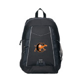 Impulse Black Backpack-Campbell Official Logo