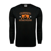 Black Long Sleeve TShirt-Wrestling Design