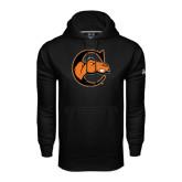 Under Armour Black Performance Sweats Team Hoodie-C w/ Camel Head