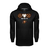 Under Armour Black Performance Sweats Team Hoodie-Just Kick It Soccer Design