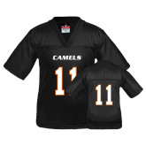 Youth Replica Black Football Jersey-#11
