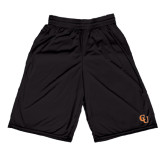 Midcourt Performance Black 9 Inch Game Short-CU