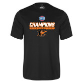 Performance Black Tee-2017 Southern Conference Wrestling