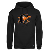 Russell DriPower Black Fleece Hoodie-Campbell Official Logo