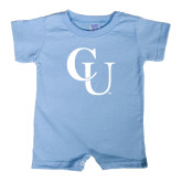 Light Blue Infant Romper-CU