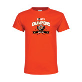 Youth Orange T Shirt-2017 Big South Champions Mens Golf