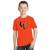 Youth Orange T Shirt-CU