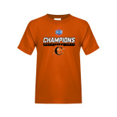 Youth Orange T Shirt-2017 Southern Conference Wrestling