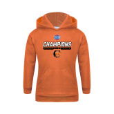 Youth Orange Fleece Hoodie-2017 Southern Conference Wrestling