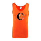 Orange Tank Top-Campbell Official Logo