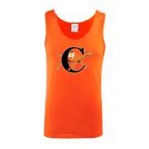 Orange Tank Top-Campbell Official Logo