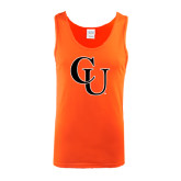 Orange Tank Top-CU