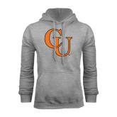 Grey Fleece Hoodie-CU