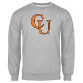 Grey Fleece Crew-CU