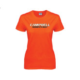 Ladies Orange T Shirt-Womens Golf