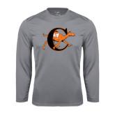 Syntrel Performance Steel Longsleeve Shirt-Campbell Official Logo