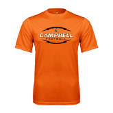 Performance Orange Tee-Lighting Football Ball Design