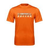 Performance Orange Tee-Soccer Design