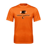 Performance Orange Tee-Cross Country Design