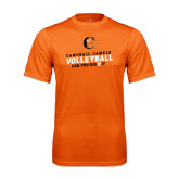 Performance Orange Tee-Can You Dig It - Volleyball Design