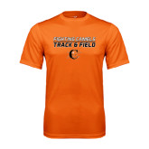Performance Orange Tee-Track and Field Design