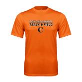 Performance Orange Tee-Track and Field Design