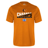 Performance Orange Tee-2017 Southern Conference Wrestling