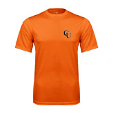 Performance Orange Tee-CU