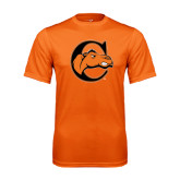 Performance Orange Tee-C w/ Camel Head